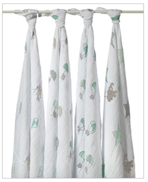 Aden and Anais Muslin Swaddle Blanket