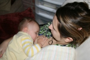 Jeni's Story: Breastfeeding the Fussy Baby