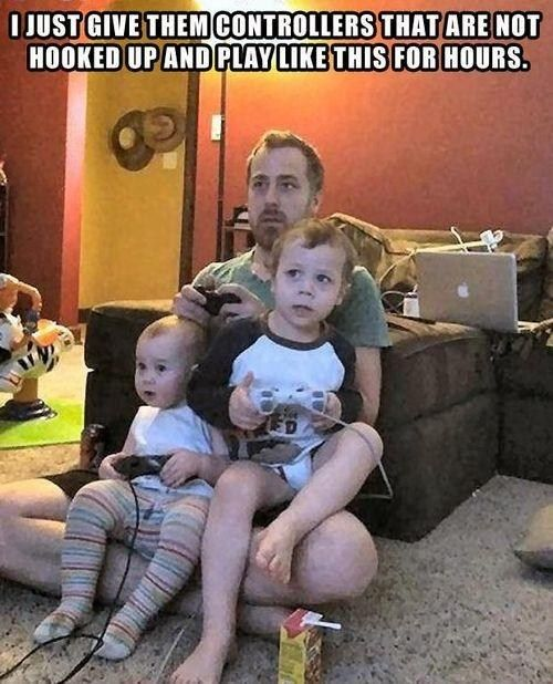 toddler video game hack
