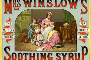 Disturbing Vintage Baby Ads: Remedies for Colic, Gas and Other Baby Ailments