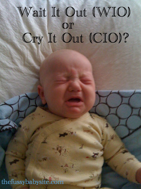 Wait it Out (WIO) or Cry it Out (CIO): Crying baby