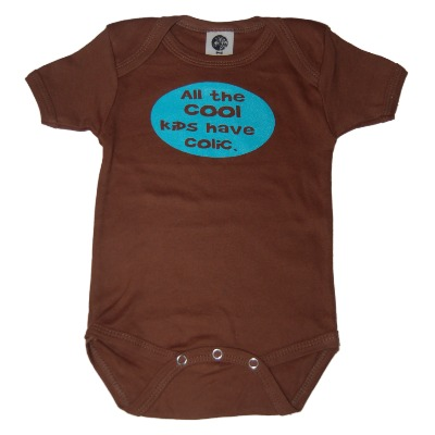 fussy baby onesie: All the cool kids have colic