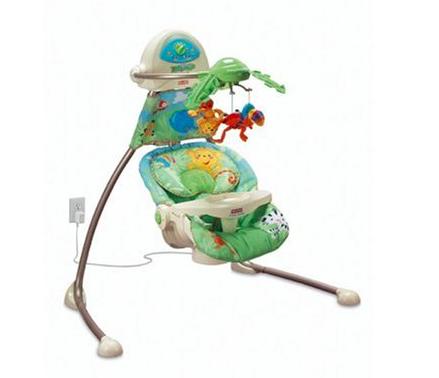 Fisher Price open-top cradle swing