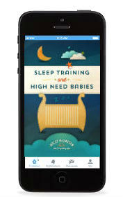 Sleep training and high need babies iebook iPhone