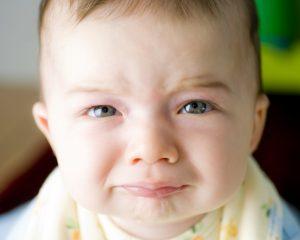 High need baby crying