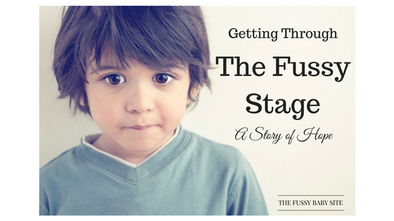 Getting through the fussy stage: toddler boy