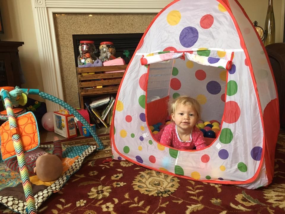 toddler ball tent