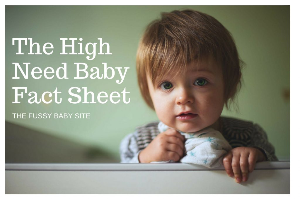 High need baby research
