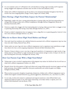 High need baby fact sheet