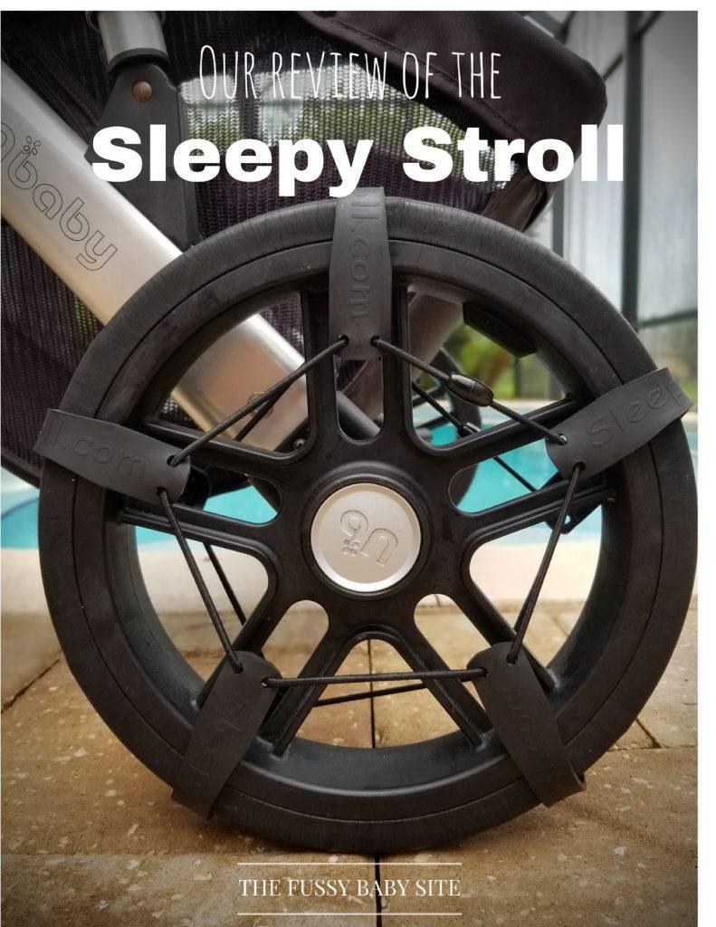 Sleepy Stroll review: Stroller tire straps