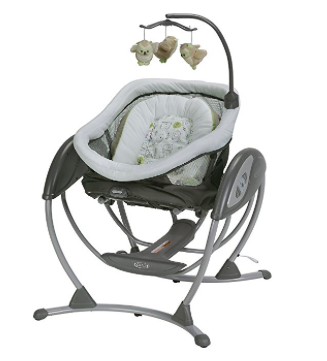 Graco DreamGlider swing not reclined